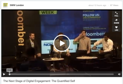 Quantified Self Social Media Week