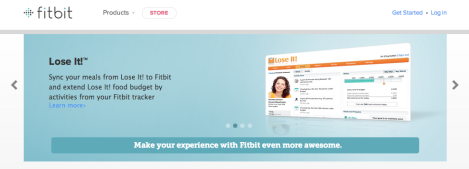 Fitbit food tracking